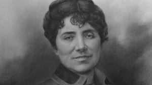 Rosalía de Castro, abanderada de las letras gallegas.